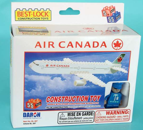 Best-Lock Air Canada 55 Piece Construction Toy - RW Hobbies