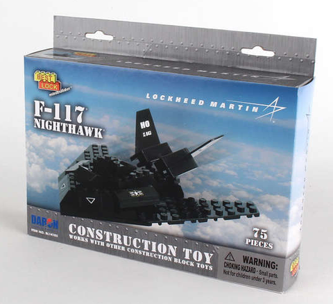 Best-Lock F-117 Nighthawk 75 Piece Construction Toy - RW Hobbies