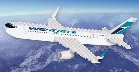 Best-Lock WestJet 55 Piece Construction Toy - RW Hobbies
