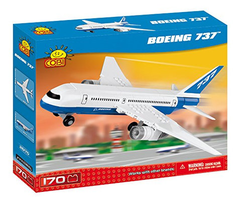 Cobi Boeing 737 170 Piece Toy Building Kit - RW Hobbies