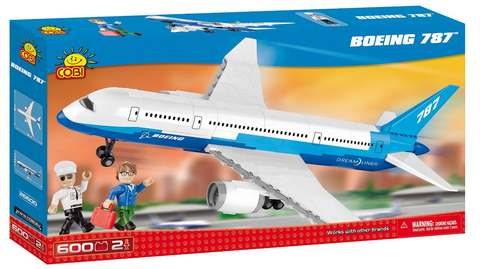 Cobi Boeing 787 Dreamliner 600 Piece Toy Building Kit - RW Hobbies