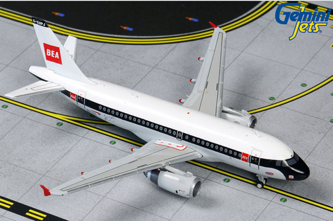 "1/400 GeminiJets British Airways ""BEA Retro"" Airbus A319 Diecast Model"