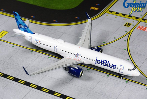 1/400 GeminiJets JetBlue Airbus A321neo Diecast Model - RW Hobbies