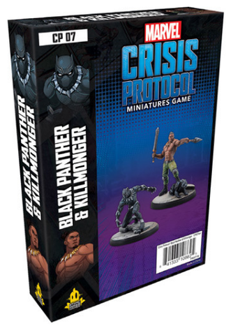 Marvel: Crisis Protocol Black Panther and Killmonger Character Pack
