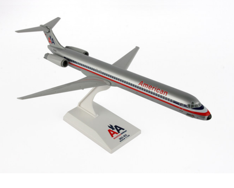 Skymarks American Airlines McDonnell Douglas MD-88 1/150 Plastic Model - RW Hobbies