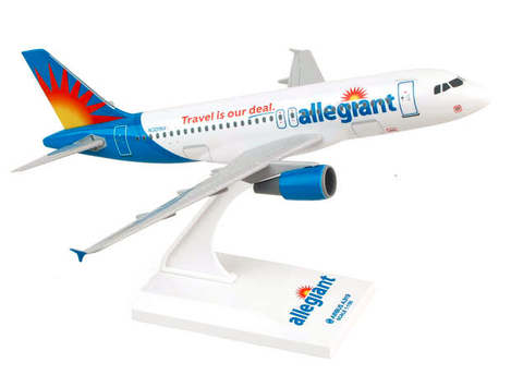 Skymarks Allegiant Air Airbus A319 1/150 Plastic Model - RW Hobbies