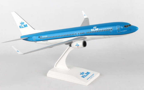 Skymarks KLM Royal Dutch Airlines Boeing 737-800w 1/130 Plastic Model - RW Hobbies