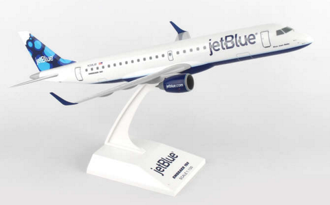 Skymarks jetBlue Embraer ERJ-190 1/100 Plastic Model - RW Hobbies