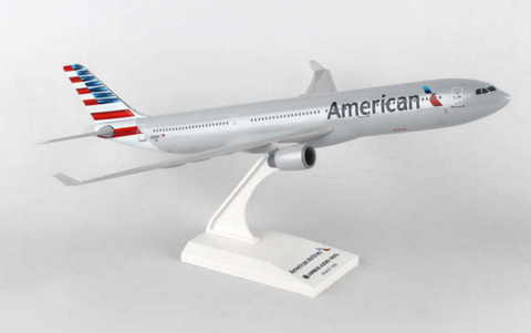 Skymarks American Airlines Airbus A330-300 1/200 Plastic Model - RW Hobbies