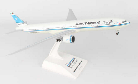 Skymarks Kuwait Airways Boeing 777-300ER 1/200 Plastic Model RW Hobbies