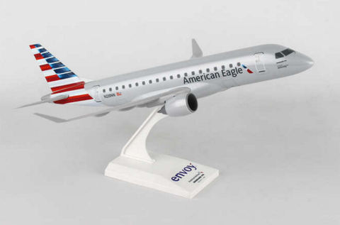 Skymarks American Airlines (Envoy) Embraer ERJ-175 1/100 Plastic Model - RW Hobbies