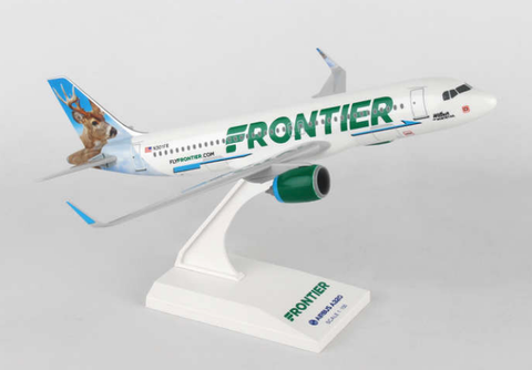 Skymarks Frontier Airlines with Neo Engines A320-200 1/150 Plastic Model - RW Hobbies
