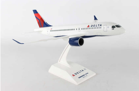 Skymarks Delta Airlines Bombardier CS100 1/100 Plastic Model - RW Hobbies
