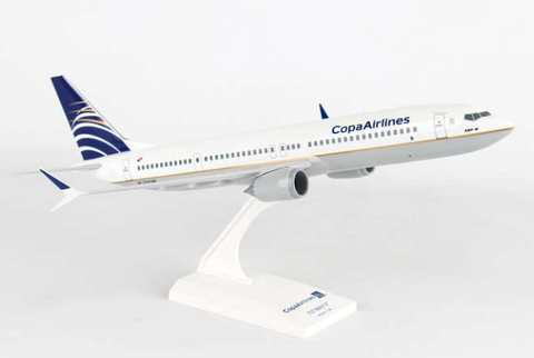 Skymarks Copa Airlines Boeing 737-MAX9 1/130 Plastic Model - RW Hobbies