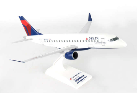 Skymarks Delta Airlines Embraer ERJ-175 1/100 Plastic Model - RW Hobbies