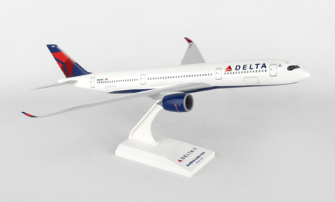Skymarks Delta Airlines Airbus A350-900 1/200 Plastic Model - RW Hobbies