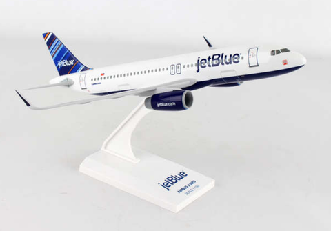 "Skymarks JetBlue ""Barcode"" Airbus A320-200 1/150 Plastic Model - RW Hobbies"