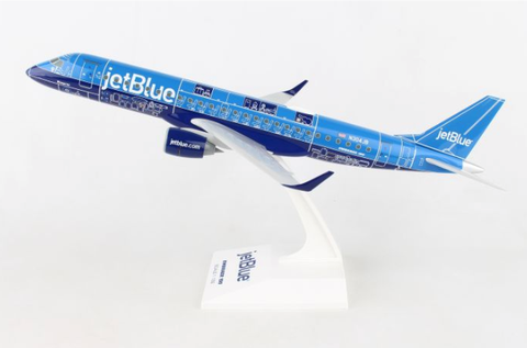 Skymarks jetBlue Embraer ERJ-190 1/100 Plastic Model