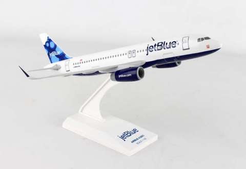 "Skymarks JetBlue ""Blueberries"" Airbus A320-200 1/150 Plastic Model - RW Hobbies"