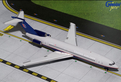 1/200 GeminiJets United Airlines Boeing 727-200 Diecast Model