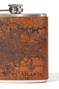 Atlanta Map Flask