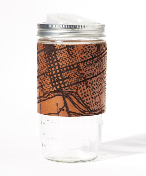 Austin Map Travel Mug