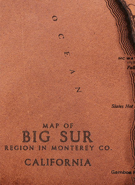 Big Sur Map Journal