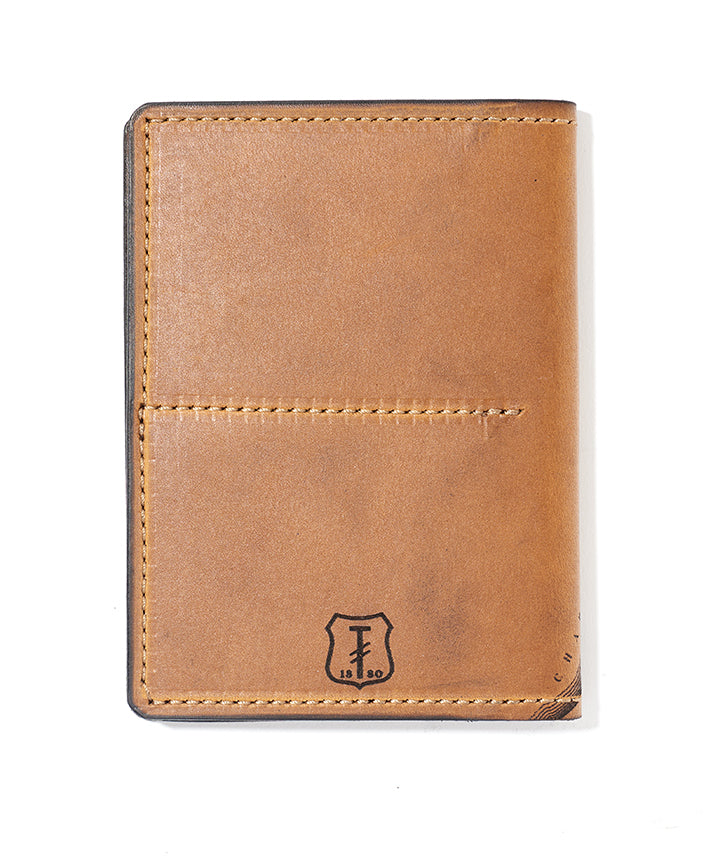 Boston Map Passport Wallet