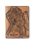 Load image into Gallery viewer, Boston Map Passport Wallet