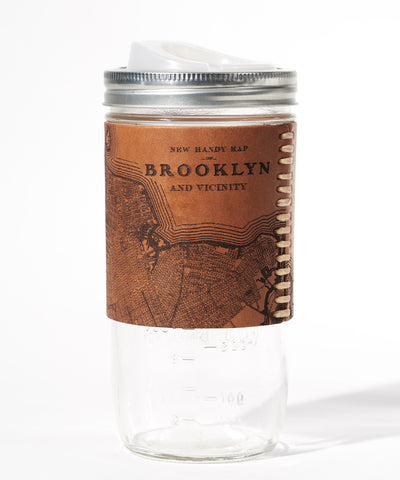 Brooklyn Map Travel Mug