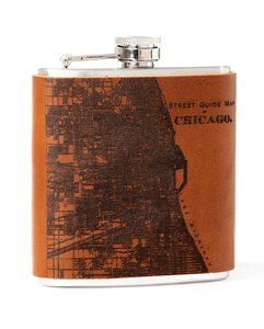 Chicago Map Flask