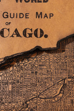 Load image into Gallery viewer, Chicago Map Clutch