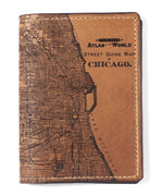 Load image into Gallery viewer, Chicago Map Passport Wallet