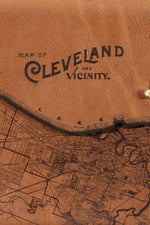 Load image into Gallery viewer, Cleveland Map Clutch