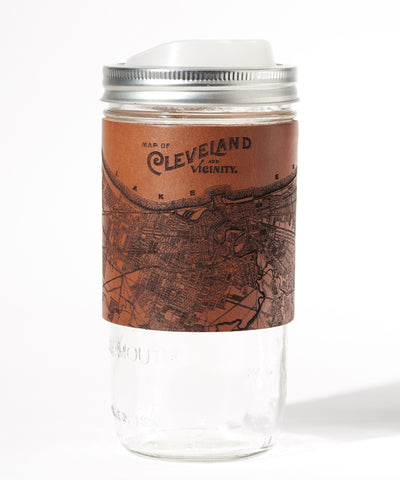 Cleveland Map Travel Mug