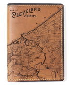 Load image into Gallery viewer, Cleveland Map Passport Wallet