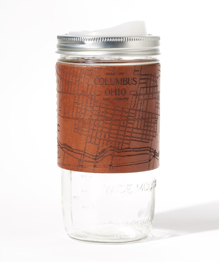 Columbus Map Travel Mug