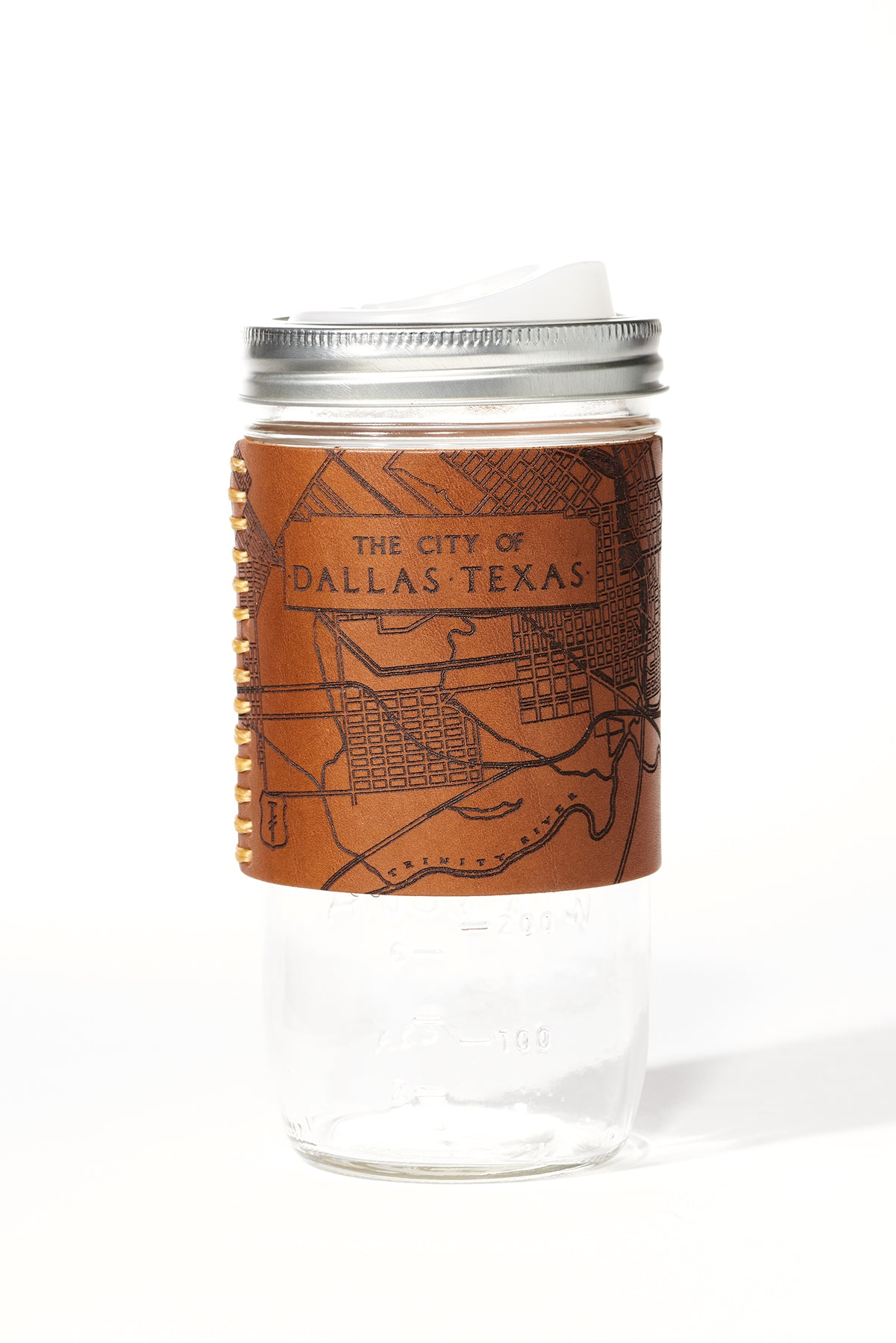 Dallas Map Travel Mug