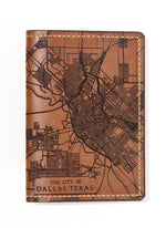 Load image into Gallery viewer, Dallas Map Passport Wallet