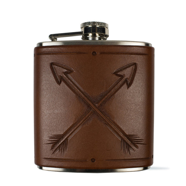 Crossed Arrows Flask