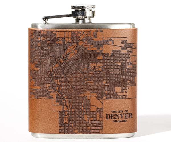 Denver Map Flask