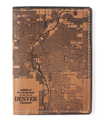 Load image into Gallery viewer, Denver Map Passport Wallet