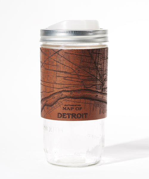 Detroit Map Travel Mug