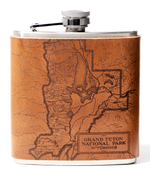 Load image into Gallery viewer, Grand Teton National Park Flask