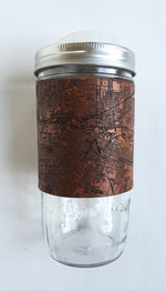 Load image into Gallery viewer, Houston Map Travel Mug