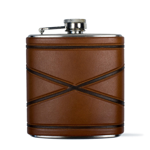 Crossed Borders Flask