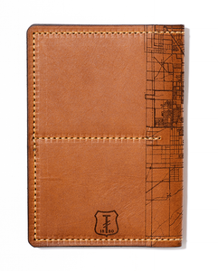 Las Vegas Map Passport Wallet