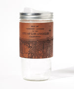 Load image into Gallery viewer, Los Angeles Map Travel Mug