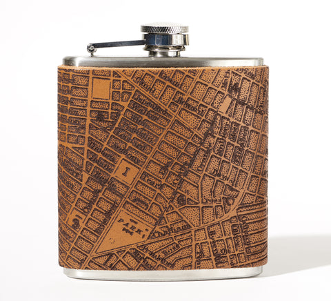 Manhattan Flask, Five Points Map
