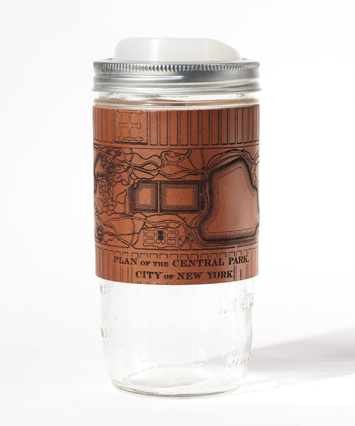 Manhattan Travel Mug, Central Park Map
